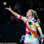 STUTTGART, GERMANY - APRIL 18 : Angelique Kerber in action at the 2016 Porsche Tennis Grand Prix