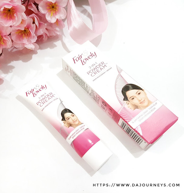 [Review] Fair And Lovely 2 in 1 Powder Cream
