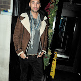 WWW.ENTSIMAGES.COM -       Hugo Taylor arriving to host  his Party at Anaya Nightclub  Mayfair London December 20th 2012                                                     Photo Mobis Photos/OIC 0203 174 1069