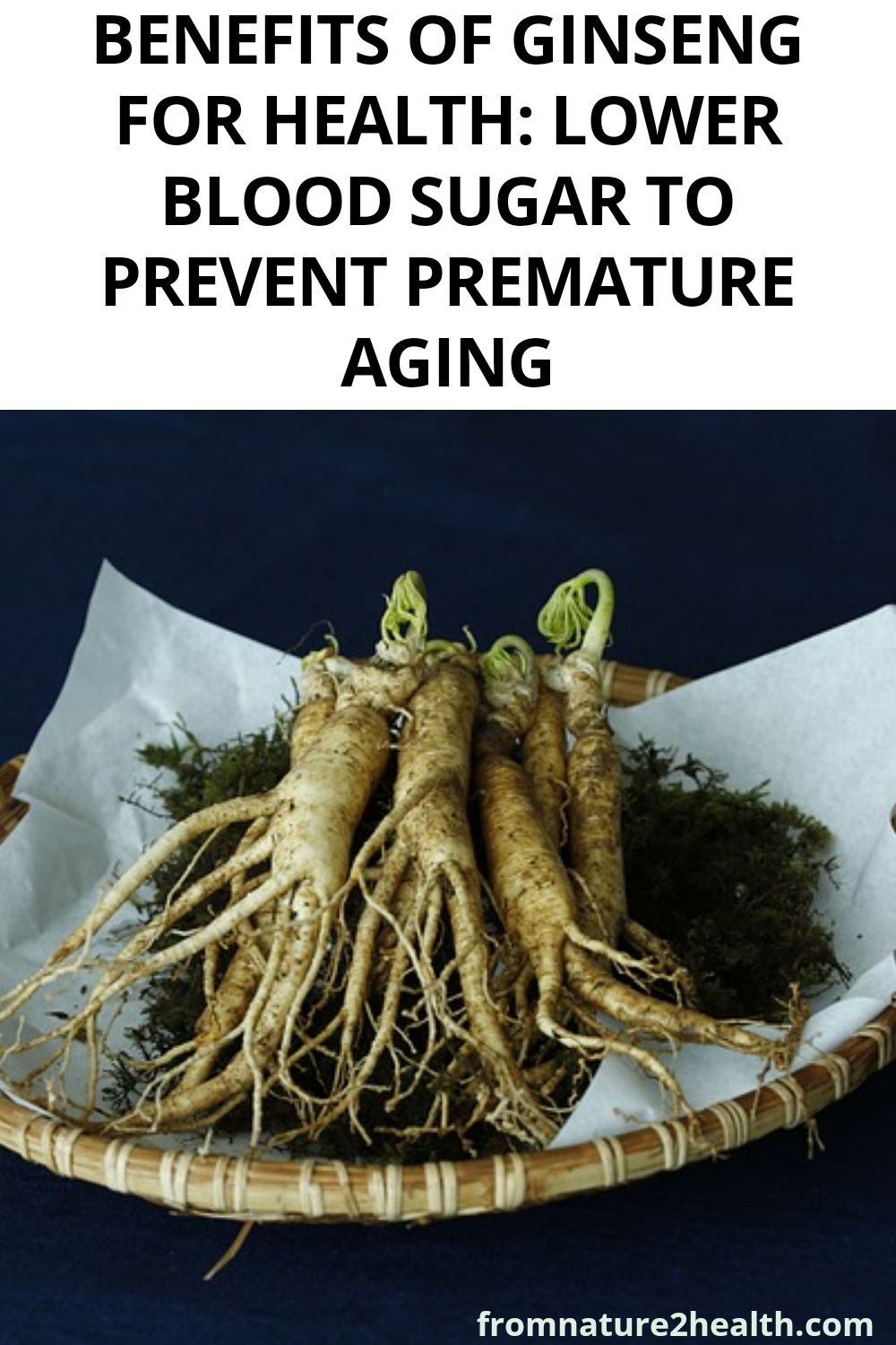Benefits of Ginseng for Health: Lower Blood Sugar to Prevent Premature Aging
