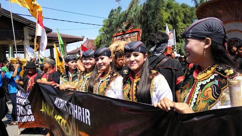 Pemuda Ponorogo Jaga NKRI Tolak Ormas Pengasong Khilafah HTI
