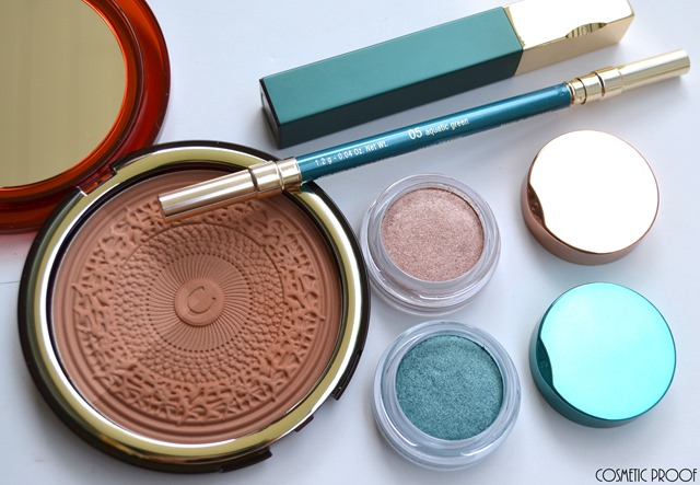 Clarins Aquatic Treasures Collection Summer 2015 Review Swatches (2)