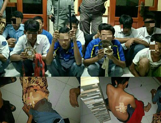 2 Korban Luka Bacok, Akibat Tawuran Pelajar di Sukabumi