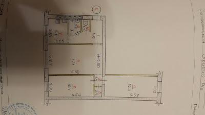 Продажа 3-комнатной по ул. Косиора, 84 на 1/5 эт. дома