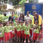 Field Trip to Police Station -Sr.Kg (2014-15) at Witty World