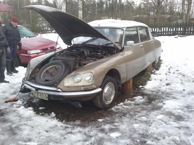 Oma autoni ennen...