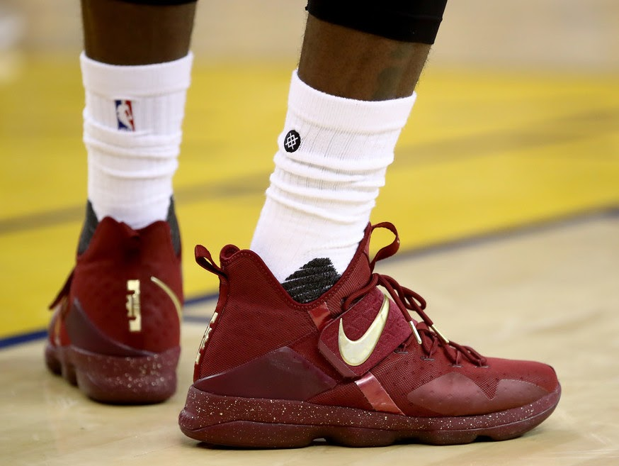 LeBron James Debuts Nike LeBron 14 Finals PE in Game One Loss ... 644003a45