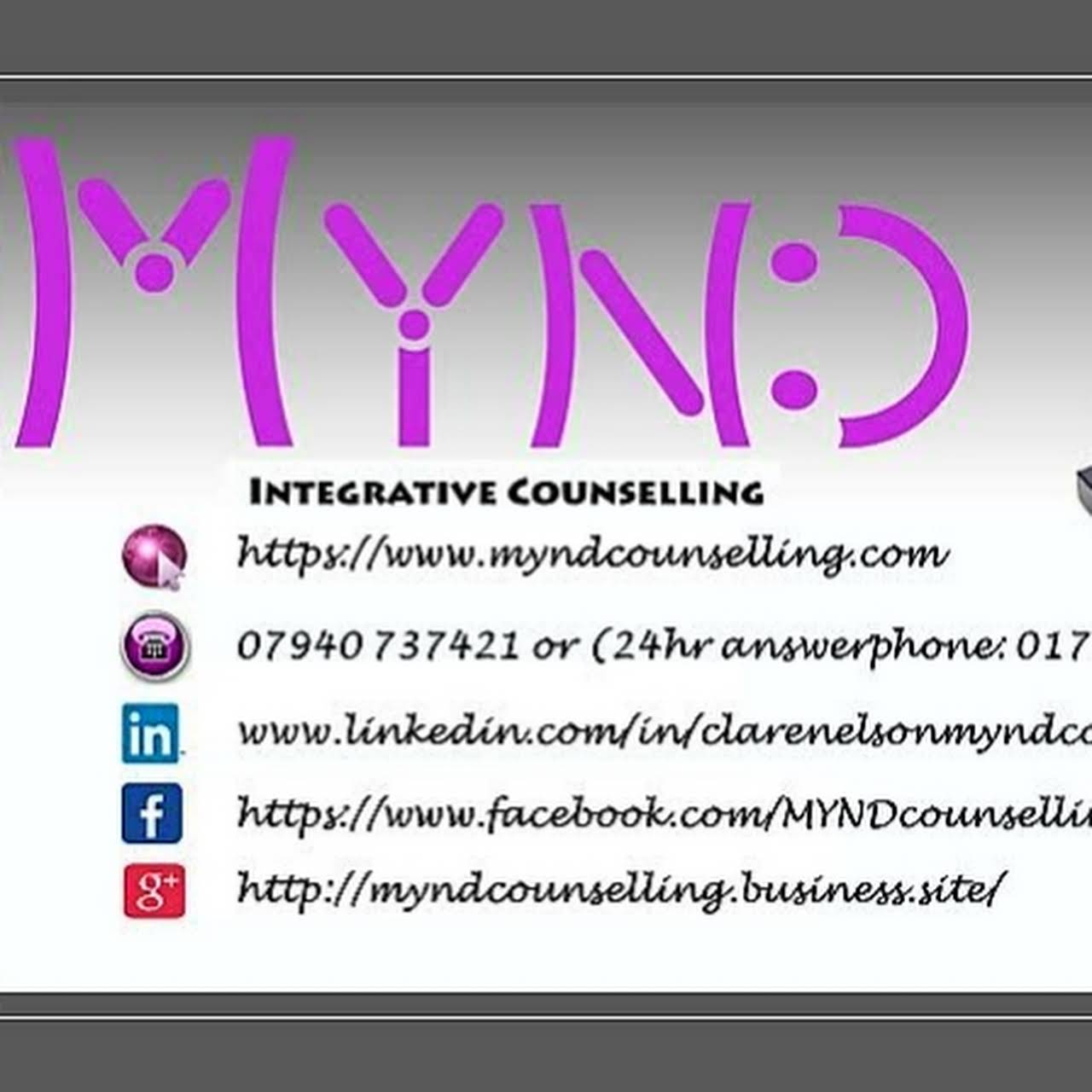 MYND Integrative Counselling - Integrative Counsellor Oldham