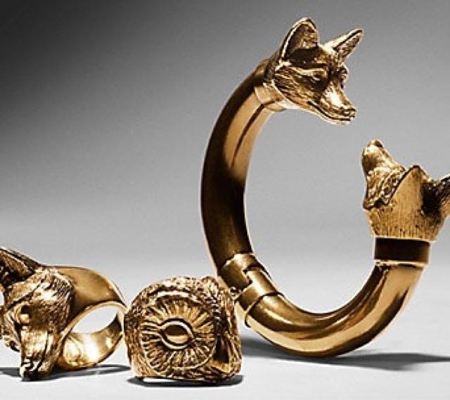 Bijoux burberry fox bracelet tendance automne hiver 2013