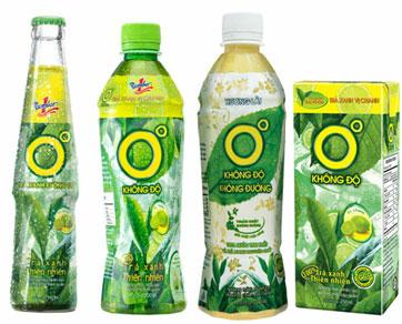 TRÀ XANH (Green Tea) (Chai – Bottle)