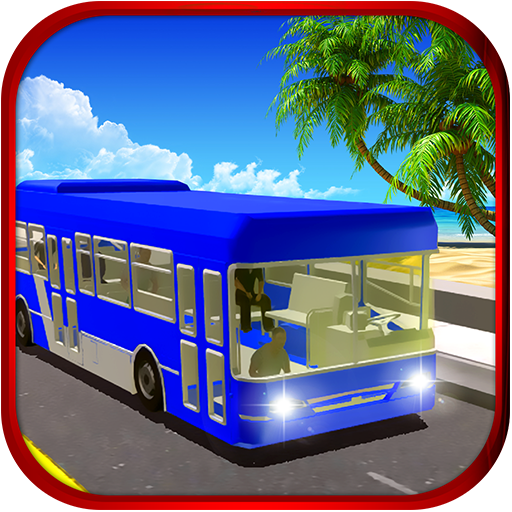 Beach Swim Party Bus Simulator