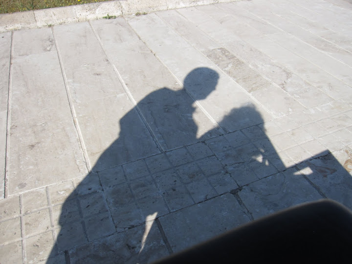Me and my shadow- accessible Turkey