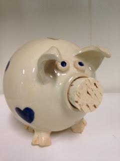 Heart Piggy Bank