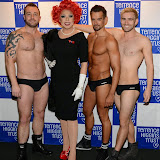 WWW.ENTSIMAGES.COM -           Terrence Higgins Trust's 'The Supper Club' after-party at Underglobe, Bankside London October 8th 2014This year's Supper Club in aid of  HIV and sexual health charity Terrence Higgins Trust. The Supper Club' is an annual foodie event where celebrities and Terrence Higgins Trust supporters invite their friends to dine with them at 50 of London's most iconic restaurants. On the night guests will be treated to an exquisite dinner, before being whisked away to a star-studded after-party, featuring cocktails, superb entertainment by British singer- song writer Chloe Howl, and dancing at the Underglobe.                                                Photo Mobis Photos/OIC 0203 174 1069