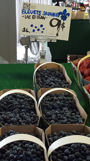 Blueberry goodness. Made in Quebec: A Savory Stroll of the Marché Jean Talon