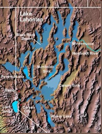 Lake Lahontan map3