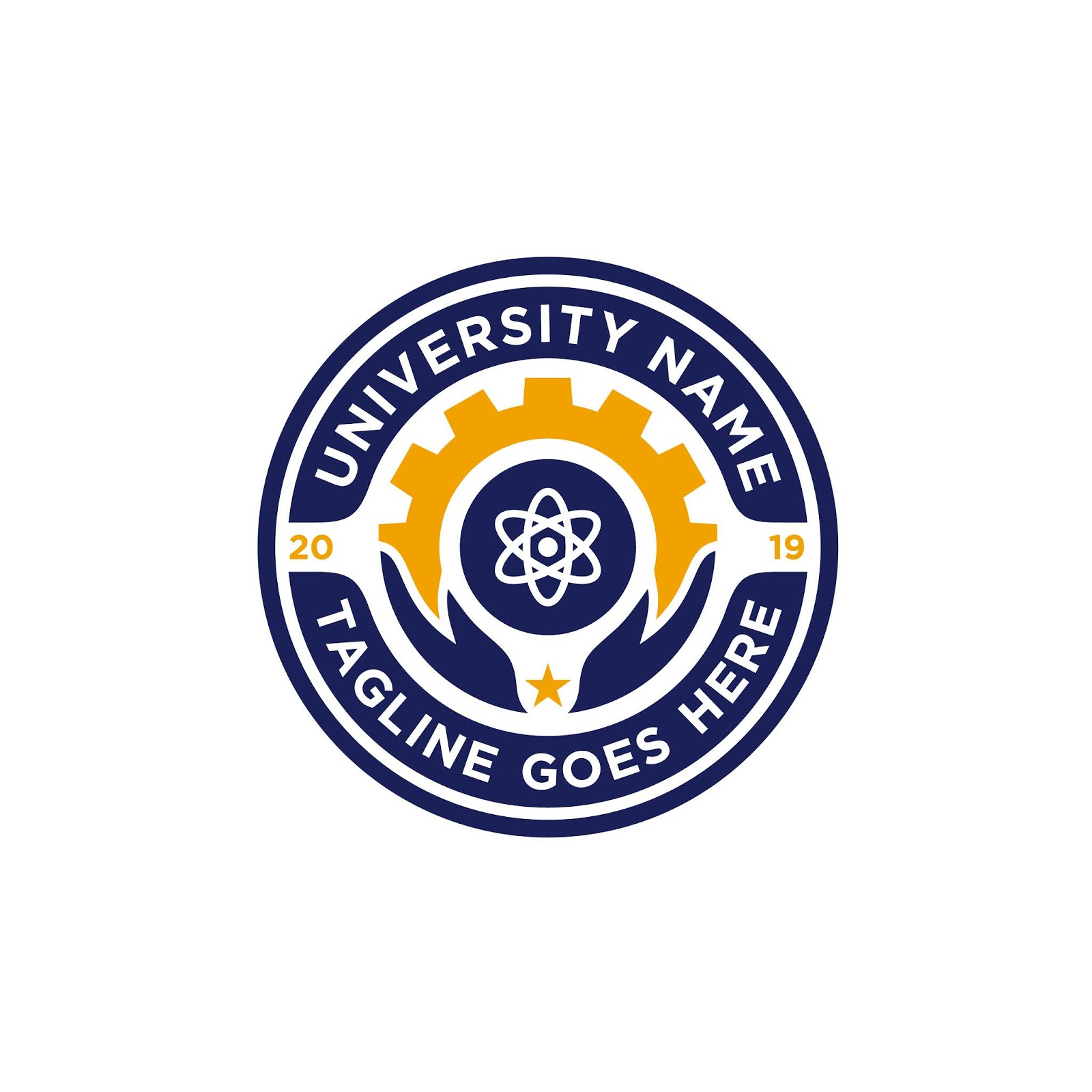 School Emblem Logo Design Inspiration Free Download Vector CDR, AI, EPS and PNG Formats