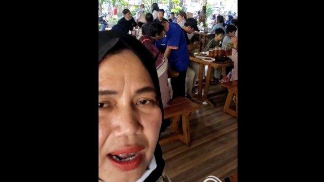 Emak-emak yang Sebut Padang Tak Takut Corona Diperiksa Polisi