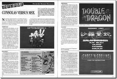 MSX VS Consola