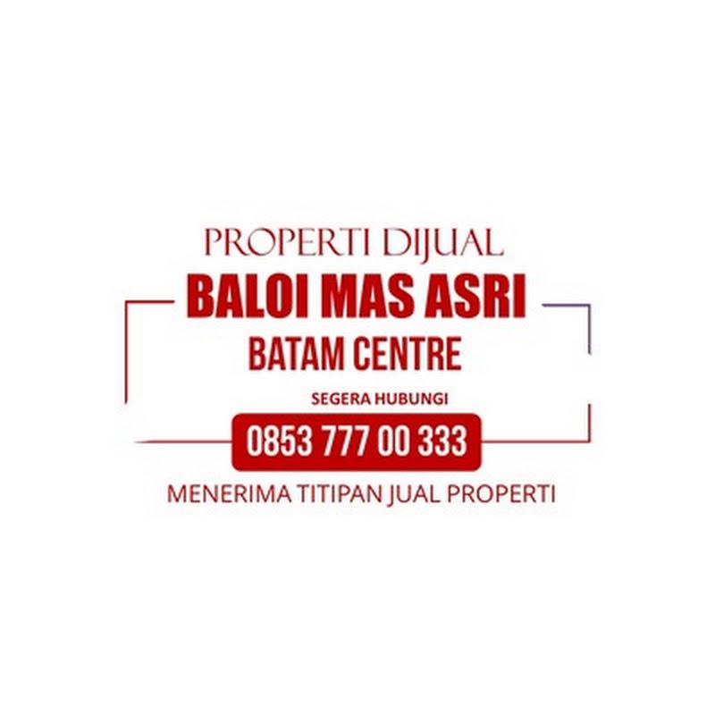 BALOI MAS ASRI | Dijual Disewakan Rumah Ruko 3 Lantai | Ruko Baloi Batam