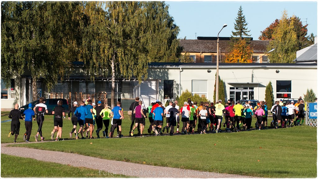 4. Tartu Linnamaraton 3. oktoober 2015 / Foto: Ardo Säks