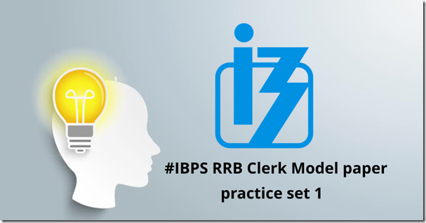 IBPS RRB Office Assistant Mode Question paper Set 1 PDF