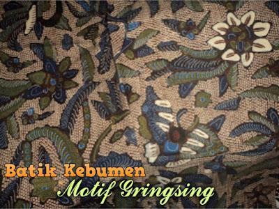batik khas kebumen