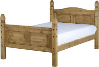 "CORONA MEXICAN BED 4"" £"