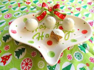 Snowballs (white Chocolate Cookie Butter Balls) Recipe