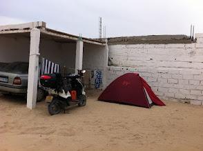 Photo: Nouadhibou camping