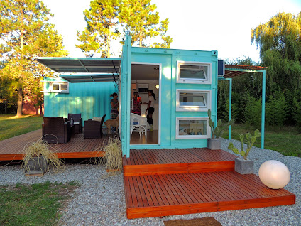 4 shipping container home