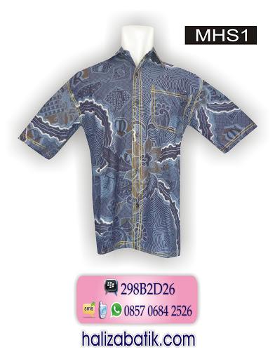 baju batik pria, model baju atasan batik, model baju kantor