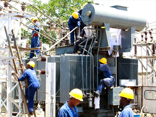 KPLC Engineers maintain a substation. PHOTO | FILE