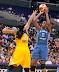 Taj McWilliams-Franklin #8.  (WNBA Western Conf. Finals GM 2, Los Angeles Sparks 79 vs. Minnesota Lynx 80, Staples Center, Los Angeles, CA. October 7, 2012.)