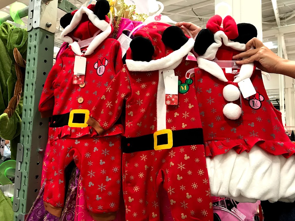 コストコ クリスマスの衣装やドレスが可愛い!安い!パーティー用に