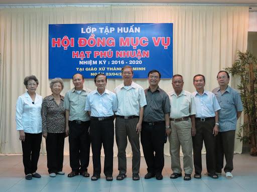Tập huấn Hội đồng Mục vụ giáo hạt Phú Nhuận