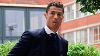 Ronaldo ya gurfana a kotu kan haraji