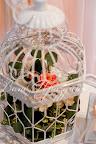 Декоративные клетки с живыми цветами
