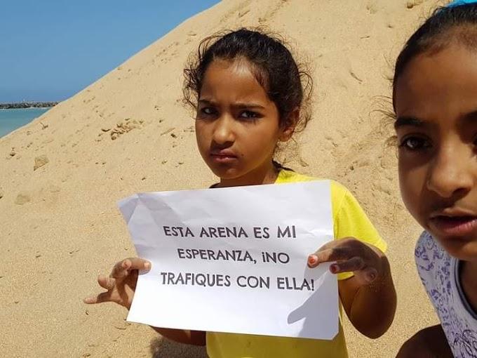 El 70% de la arena expoliada por Marruecos del Sáhara Occidental es adquirida ilegalmente por España.