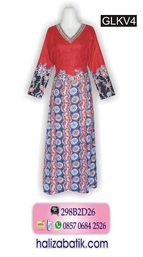 batik wanita modern, model baju batik, model baju batik