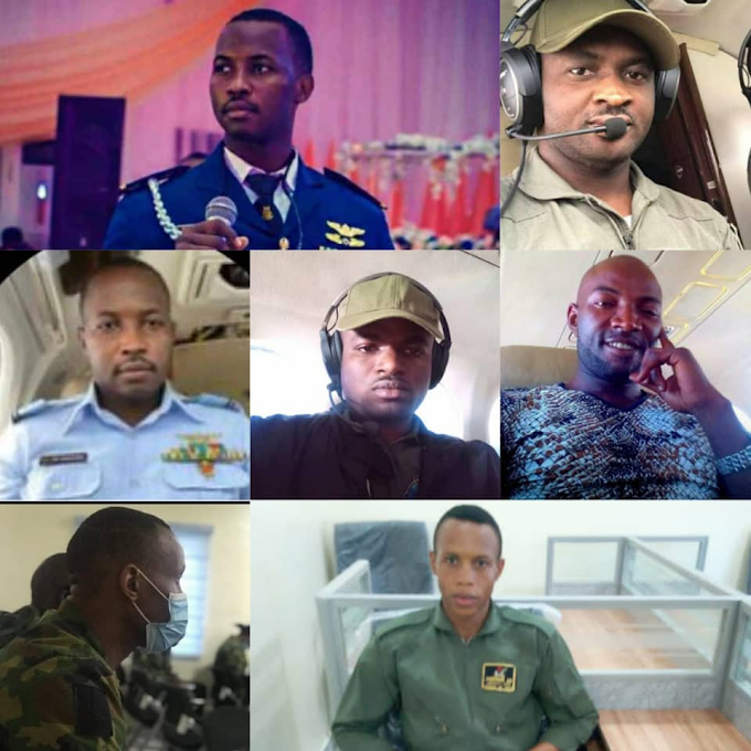 Nigerian Air Force Releases List Of Military Plane Crash Victims