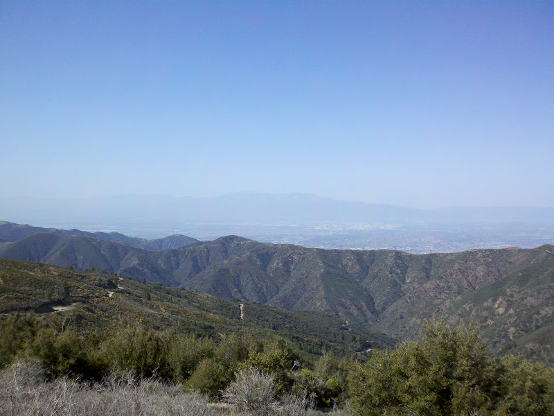 Dana Point - Santiago Peak - Dana Point • Maple Springs Road (Dirt Section)