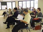 Pré-encontro da RENAS na Igreja Batista da Água Branca, em São Paulo (SP), em novembro de 2005. Na pauta, o planejamento do Encontro Nacional em 2006.
