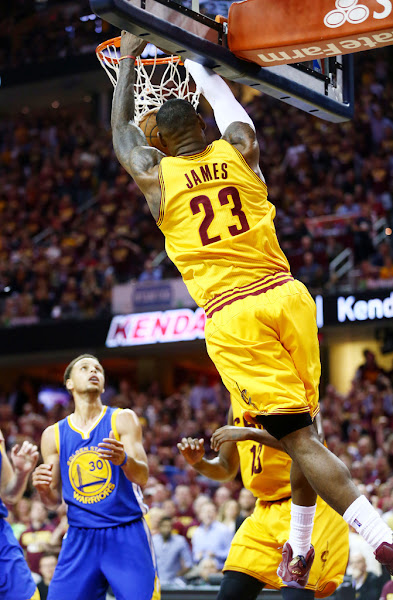 King James Wears WineampGold LeBron 12 PE in Game 4 Loss