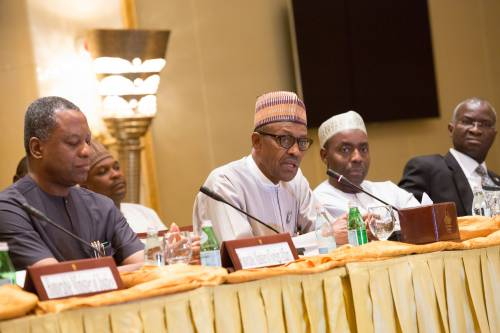 Nigerians made me president I am today – Buhari