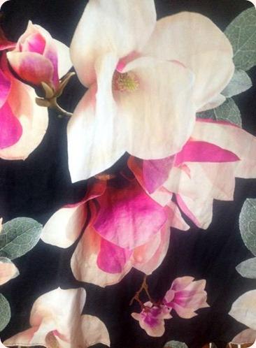 black floral dress from Wallis