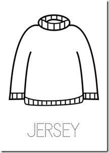 Jersey ropa dibujos colorear pintaryjugar  (25)