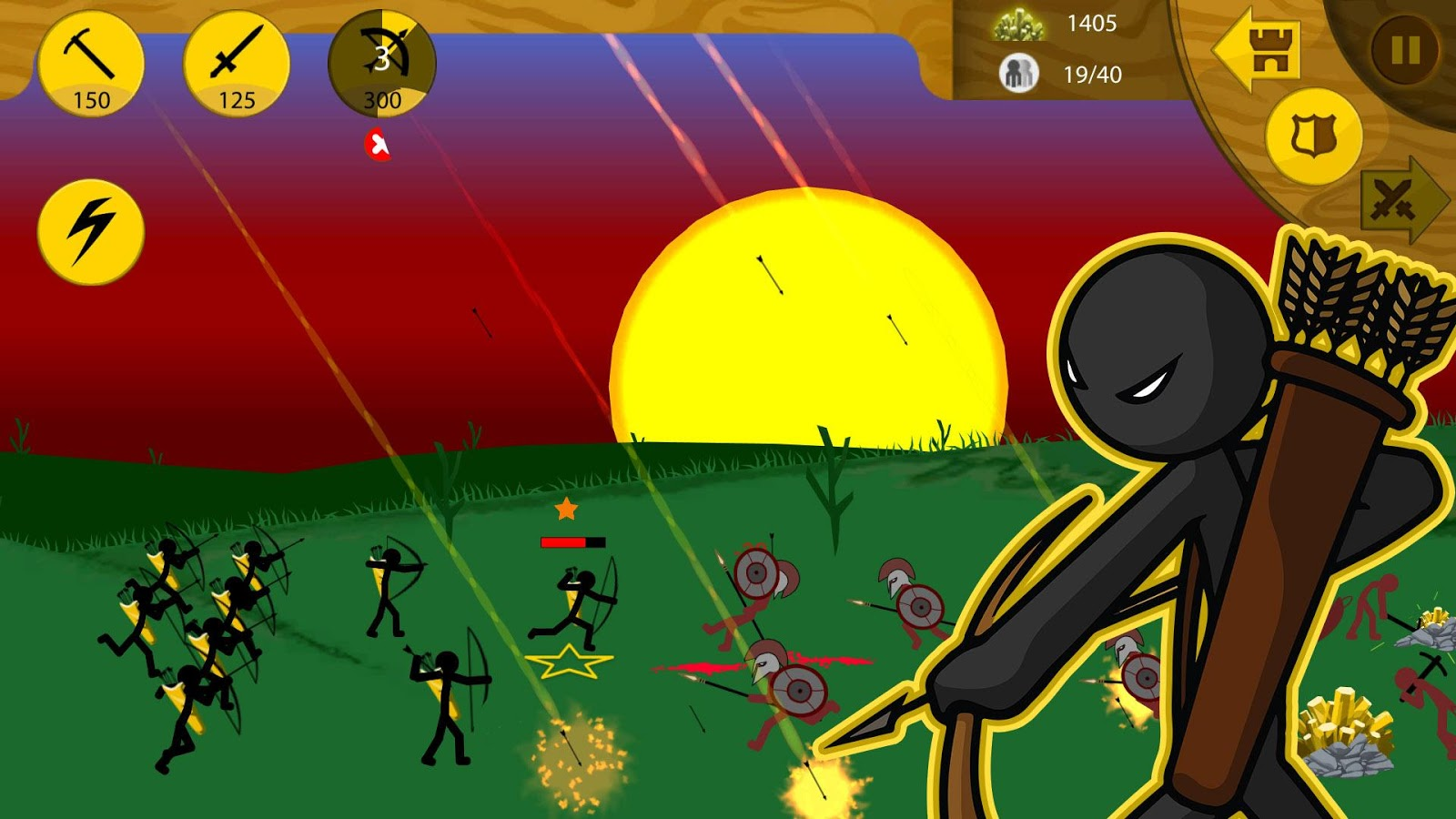 Screenshots of Stick War: Legacy for iPhone