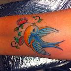 forearm swallow - Bird Tattoos
