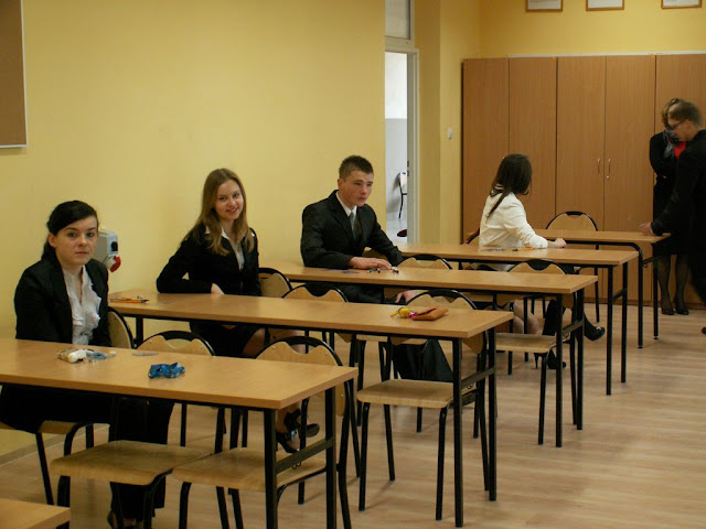 Pierwszy egzamin gimnazjalny w ZS nr 2 w Dukli 2011 - PICT1344_1.JPG